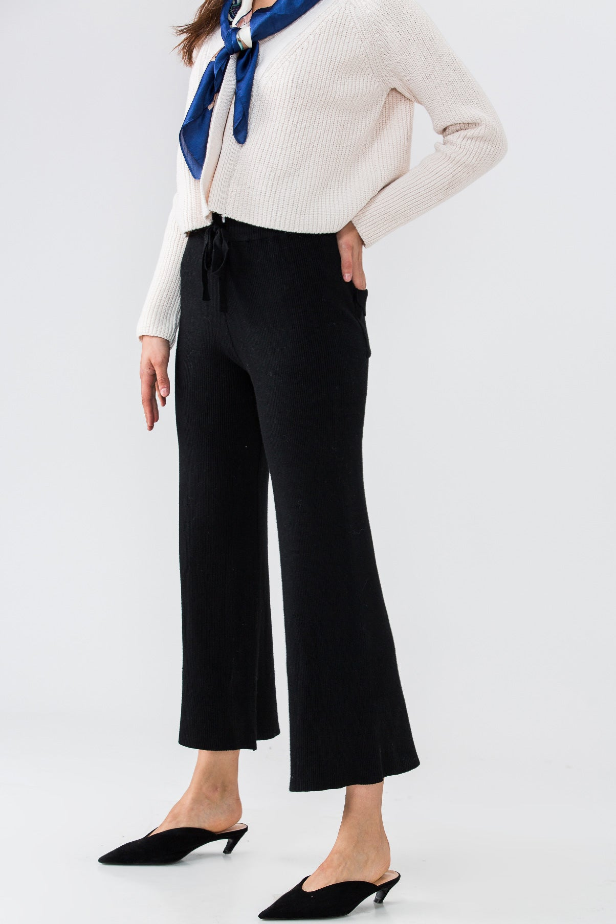 PERFECT KNIT PANTS (BLACK)