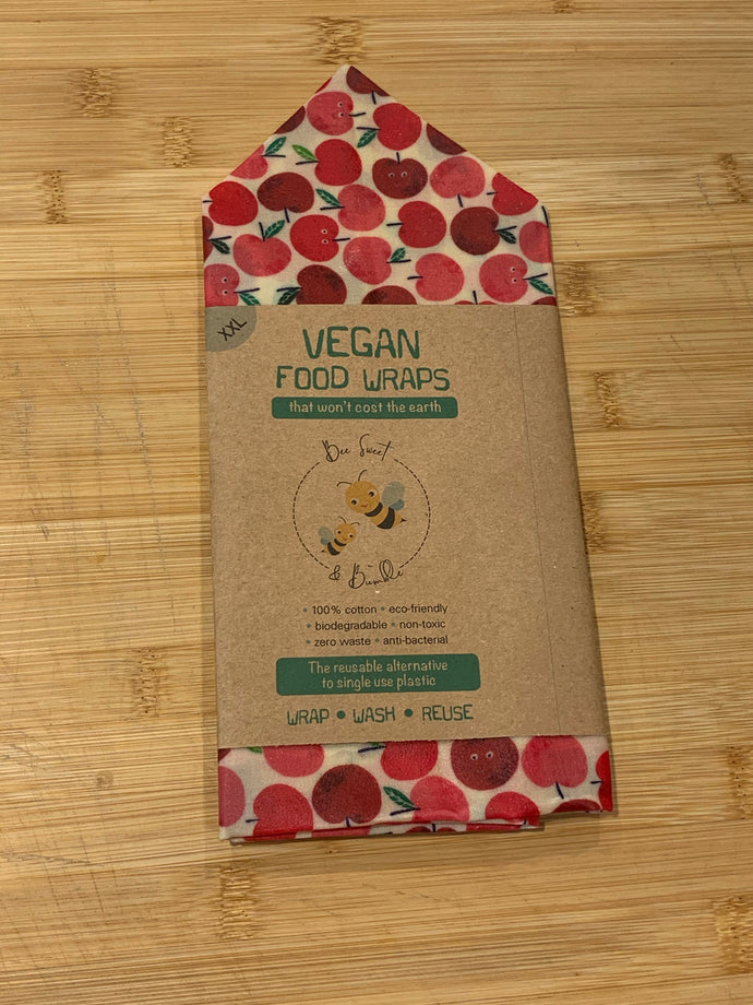 Vegan Food Wrap - XXL- One  wrap-(50cm x 50cm) - Perfect for a large loaf.