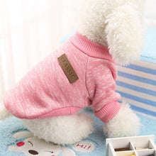 Load image into Gallery viewer, Hot Sale Pet dog clothes for small dogs winter warm coat sweater puppy chihuahua cheap clothing for dog roupa para cachorro