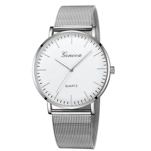 Womens Classic Quartz Stainless Steel Wrist Watch Bracelet Watches