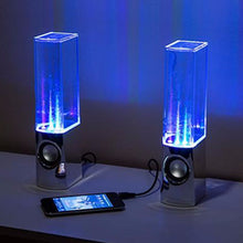 Load image into Gallery viewer, LED Dancing Water Speakers