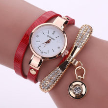 Load image into Gallery viewer, Punk Style Bracelet Watch Luxury Rhinestone Bangle Quartz Watch