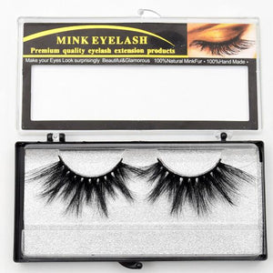 Mink Eyelashes Criss-cross Strands Cruelty Free High Volume Mink Lashes Soft Dramatic Eye lashes E80 Makeup