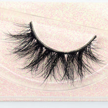Load image into Gallery viewer, Mink Eyelashes 100% Cruelty free Handmade 3D Mink Lashes Full Strip Lashes Soft False Eyelashes Makeup  Lashes E11