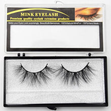 Load image into Gallery viewer, Eyelashes Mink Eyelashes Criss-cross Strands Cruelty Free High Volume Mink Lashes Soft Dramatic Eye lashes E80 Makeup