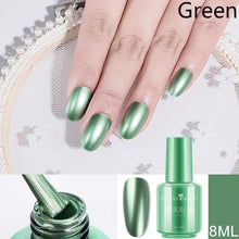 Load image into Gallery viewer, Metallic Nail Polish Purple Rose Gold Silver Chrome Nail Polish for Manicure Varnish Available in a variety of colors, volume 8/18 ml.