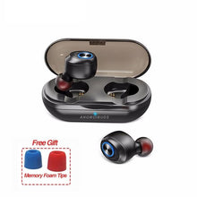 Load image into Gallery viewer, Capsule TWS Wireless Earbuds V5.0 Bluetooth Earphone Headset Deep Bass Stereo Sound Sport Earphone For Samsung Iphone