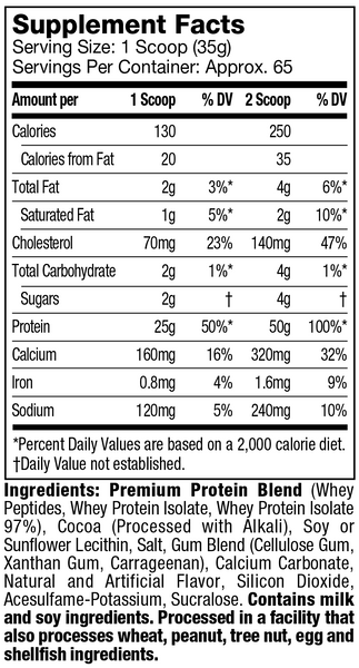 mt whey protein plus isolate suppfacts