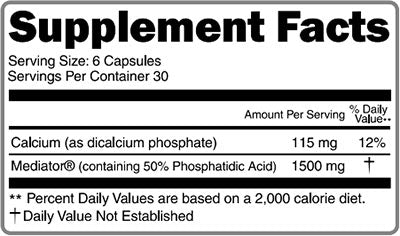 primabol supplement facts