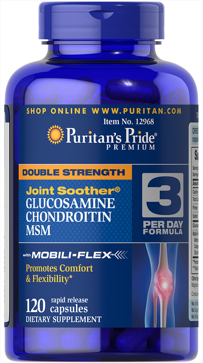 Puritan's Pride Double Strength Glucosamine Chondroitin & MSM
