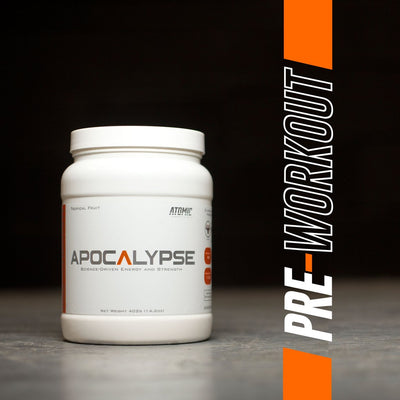 Apocalypse Pre Workout Bottle Front