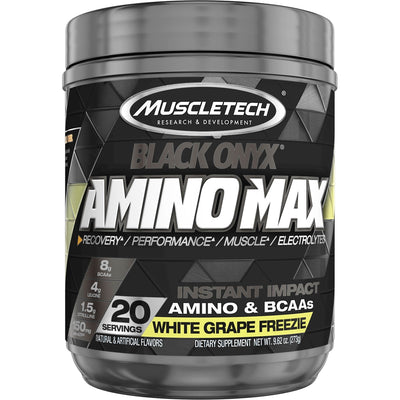 Muscletech Black Onyx Amino Max White Grape Freezie