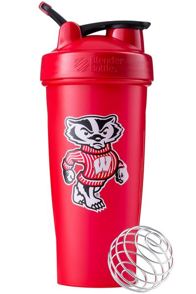 Wisconsin Badgers Shaker Bottle