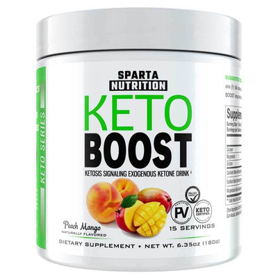 Keto Boost Bottle Front