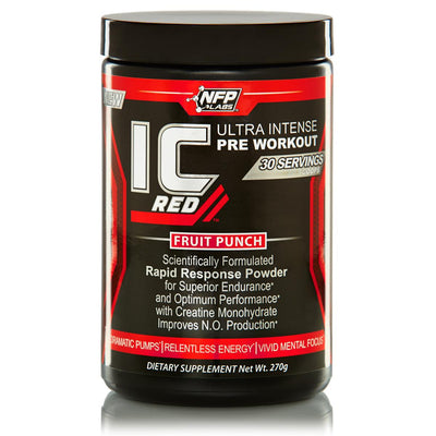 IC Red Pre Workout by NFP