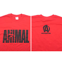 Universal Animal T Shirt Red