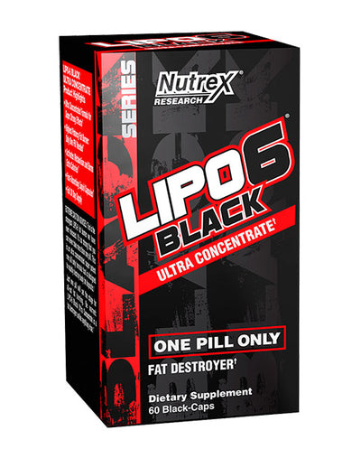 Lipo 6 Black Ultra Concentrate Supplement Facts