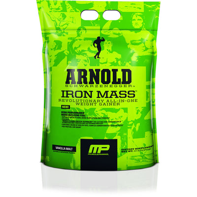 Iron Mass Gainer 10 lbs Arnold Muscle Pharm