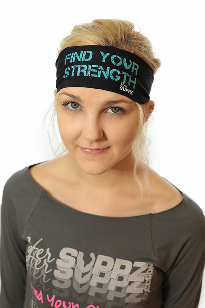 HerSuppz Find Your Strength Headband