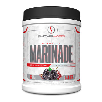 Purus Labs Muscle Marinade 25Servings Blackberry Cherry