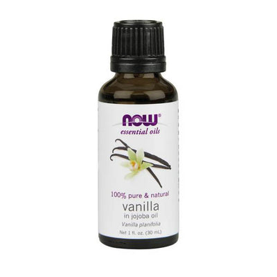 NOW 100% Pure and Natural Vanilla Oil