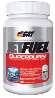 GAT JetFuel Superburn (120 Caps)