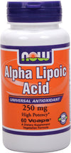 Now Alpha Lipoic Acid 250mg (120vcaps)