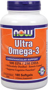 NOW Ultra Omega-3 (180softgels)