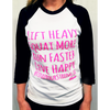 HerSUPPZ Live Happy Baseball Tee