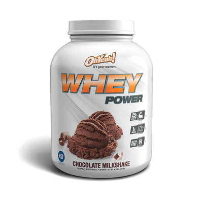 Oh Yeah! Whey Power 5 Lbs Chocolate Product Image