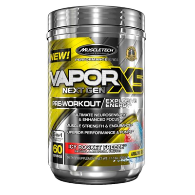 Vapor X5 Bottle Front