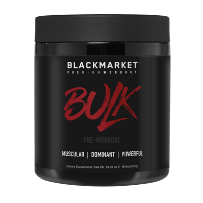 Blackmarket Labs Bulk Bottle Front