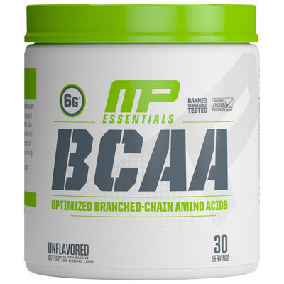 Muscle Pharm BCAA Unflavored Bottle Front