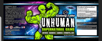 Galaxy Labs UNHUMAN SuperNatural (90 caps)