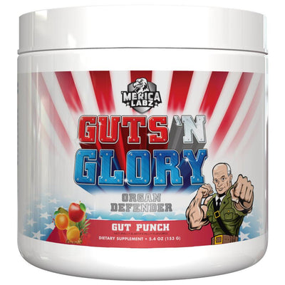 Guts N Glory Bottle Front