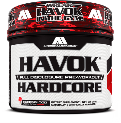 Havok Hardcore Bottle Front