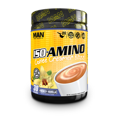 ISO Amino Coffee Creamer Bottle Front