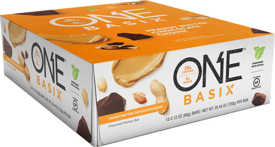 One Basix Box Peanut Butter Front
