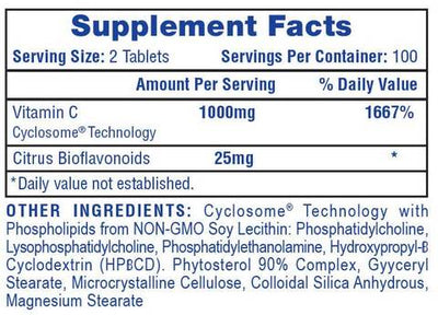 Hi Tech Pharma Vitamin C (200 Tablets)