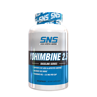 Yohimbine Bottle Front