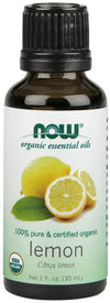 NOW Organic Lemon Oil