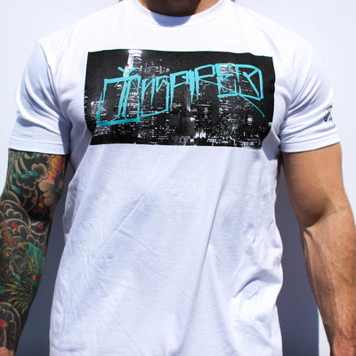 Inspired CityScape Tee White