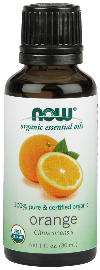 NOW Organic Orange Oil