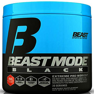 Beast Beast Mode Black (30Servings)