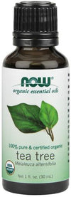 NOW Organic Tea Tree Oil