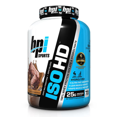 bpi iso-hd fudge brownie 5 lbs