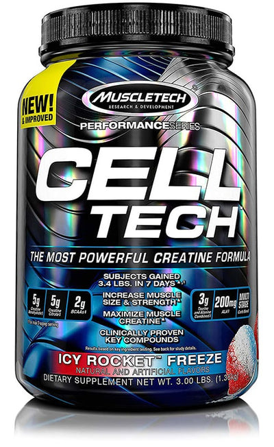 Cell-Tech Icy Rocket Freeze 3Lb