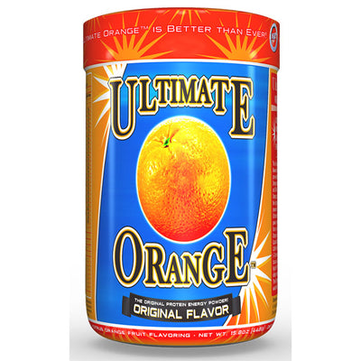 Ultimate Orange Bottle Front