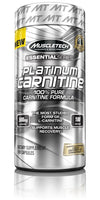 carnitine 180caps muscltech essential platinum