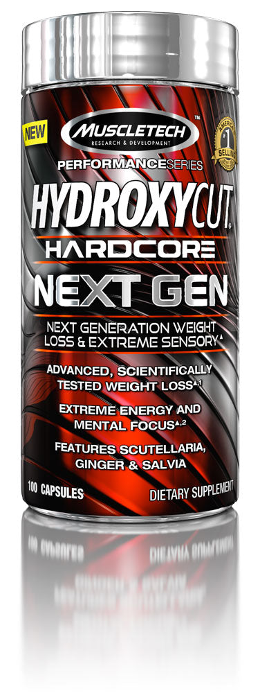 Hydroxycut Hardcore Next Gen 100 caps Muscletech